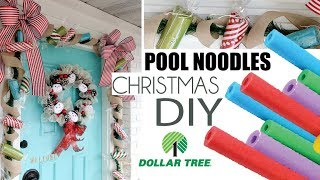 Dollar Tree Christmas 2019 | DIY CHRISTMAS DECOR | EASY  FRONT PORCH TOUR