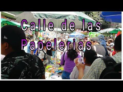 Calle De Las Papelerías