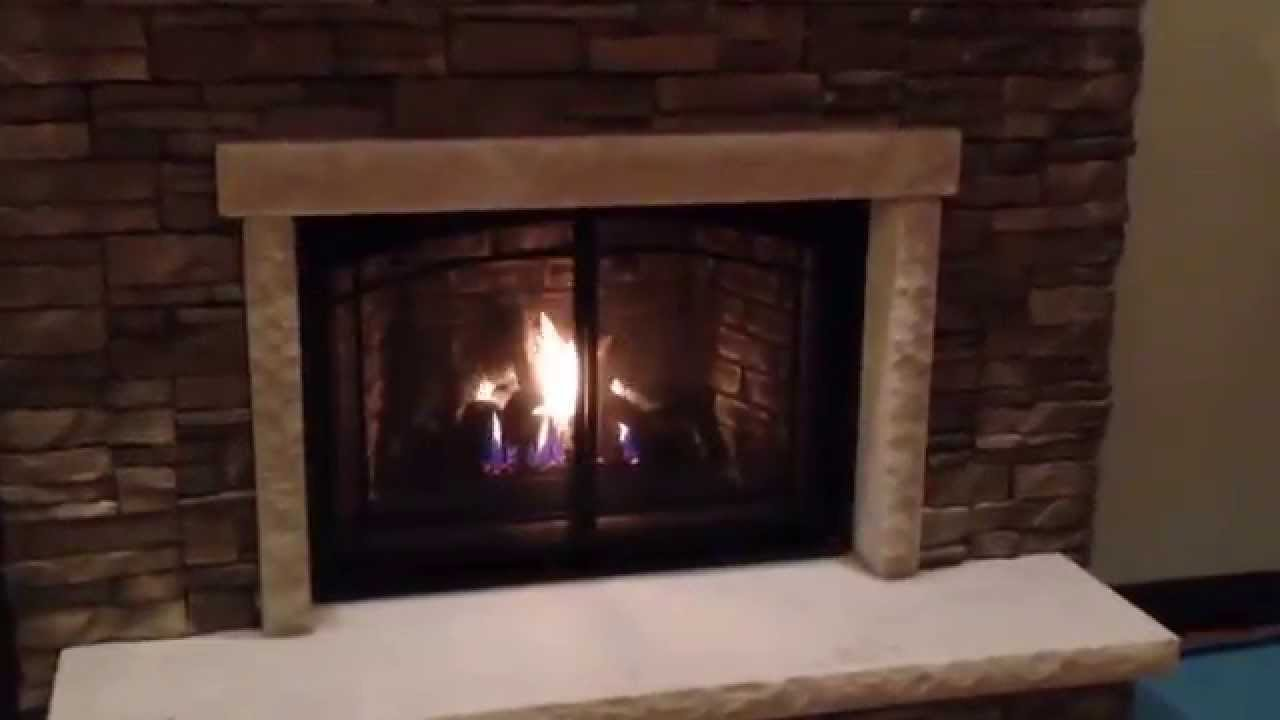 marquis solace 4736 gas fireplace youtube