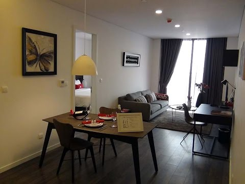 Somerset West Point Hanoi 1bed73㎡の室内風景