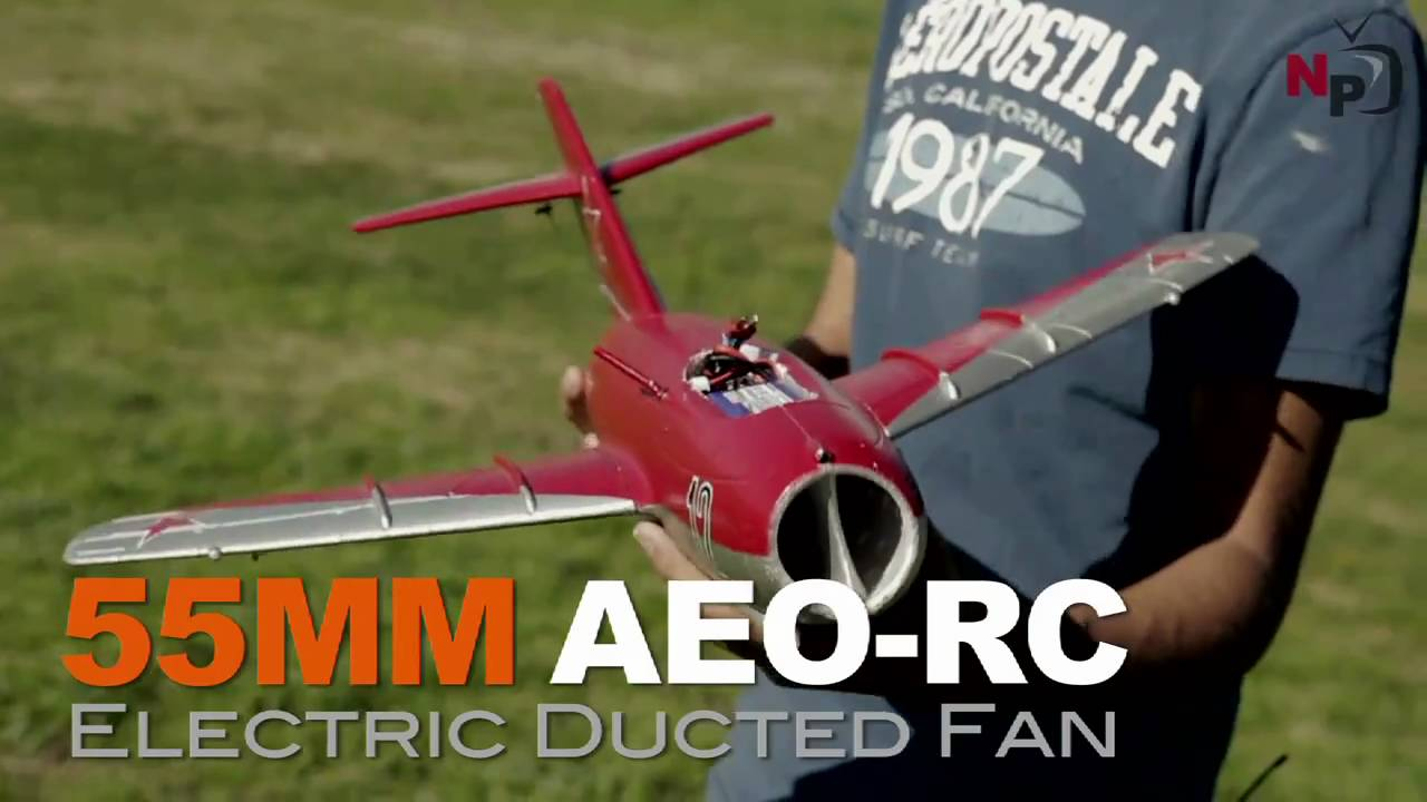 Exceed Rc Mini 50mm Mig 15 Edf Jet With Hobbypartz