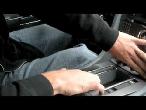 How to remove Aston Martin DB9 radio