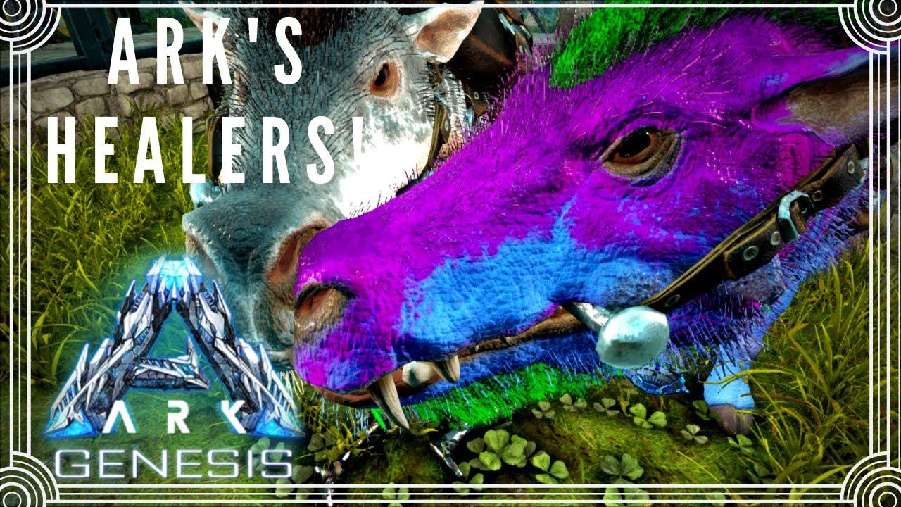 Ark S Healers Taming Daeodons To Tackle Tough Missions Solo Ark Genesis E10 Youtube Der daedon ist durch seinen gesundheitsbonus ein starker gegner in ark: youtube