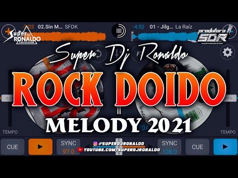 TECNO MELODY 2020 - ROCK DOIDO VS ROMÂNTICO (APP CROSS DJ PRO)