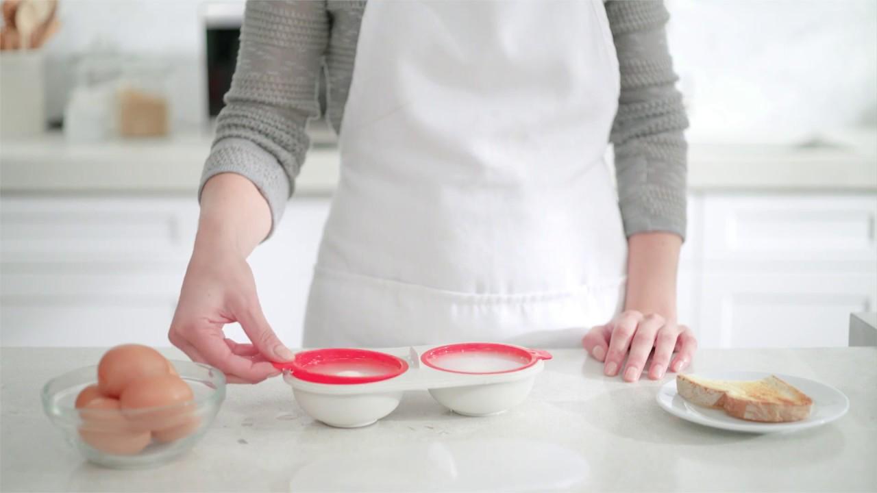 joseph joseph m cuisine microwave egg poacher
