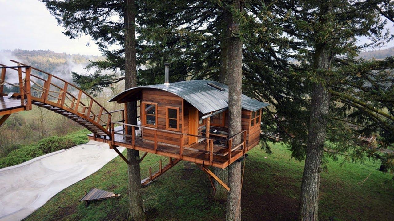 Treeless Treehouse Plans Free