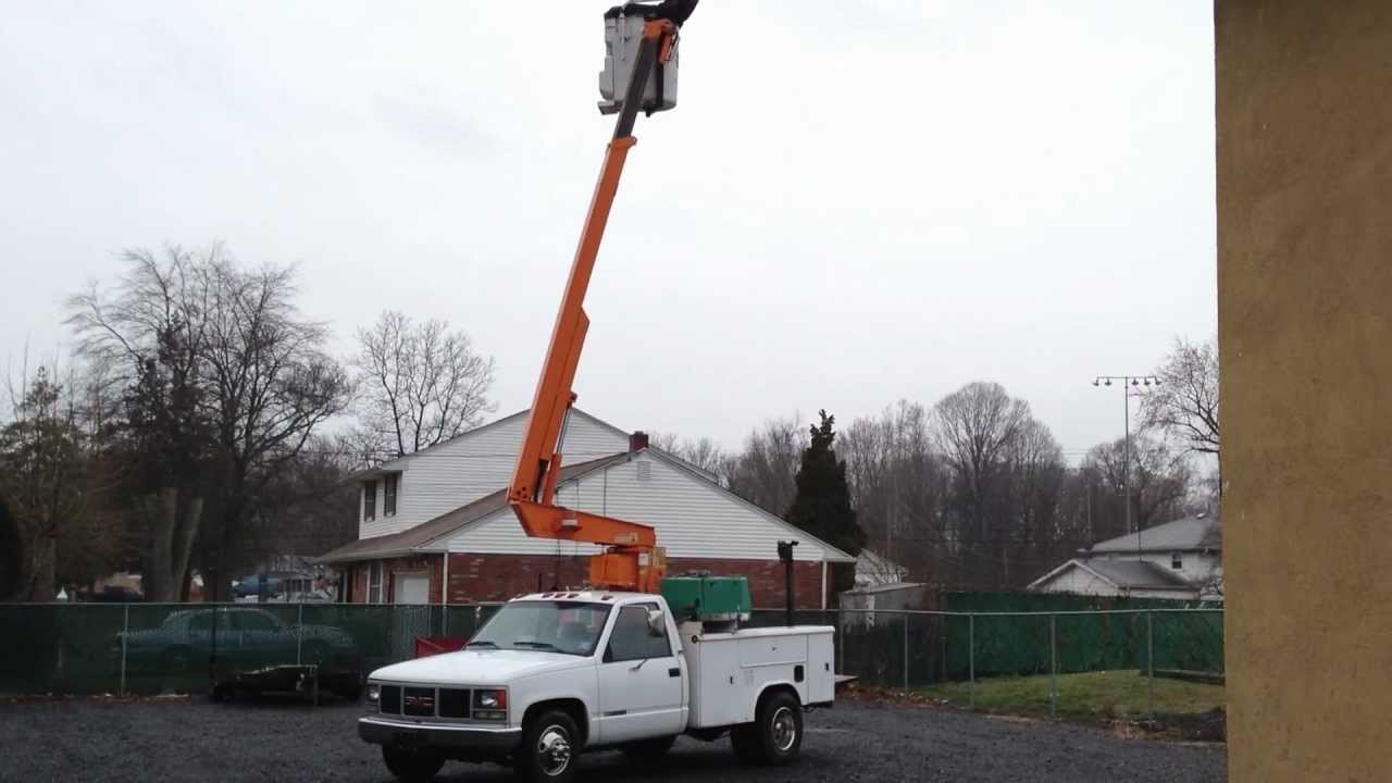 All Chevy 1991 chevy 3500 : 1991 Chevy 3500 Bucket Truck - YouTube
