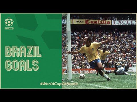 All of Brazil's 1970 World Cup Goals | Pele, Jairzinho & more!