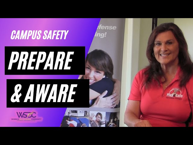 Self-Defense: Prepare and Be Aware for your Safety on Campus