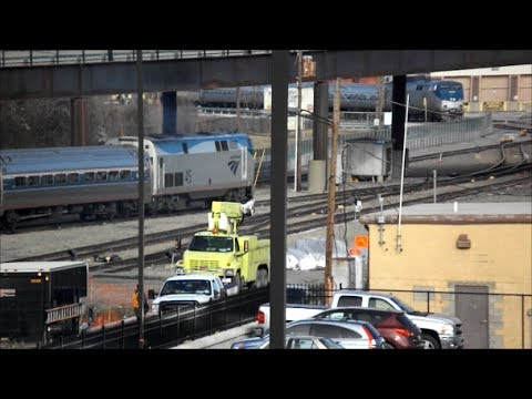 Amtrak Adirondack 69 departs Albany-Rensselaer