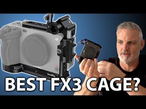 SmallRig Sony FX3 Half Cage Review