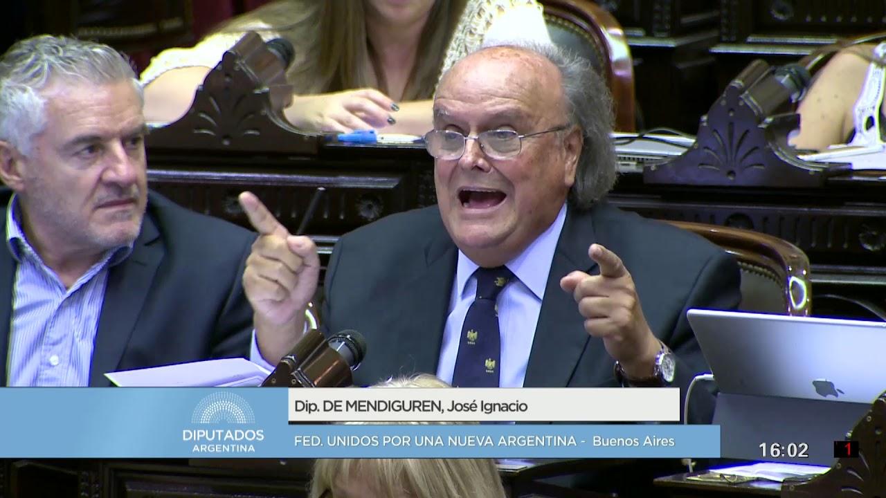 Diputado De Mendiguren José Ignacio - Sesión Informativa   14-03-2018 SI