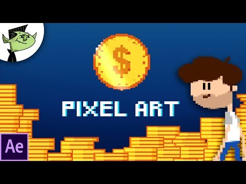 e279f406c4 Create Pixel Art Animation Easy in After Effects - Tutorial - YouTube