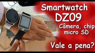 Smartwatch DZ09 - O Relógio Inteligente com Câmera, Chip, Whats e SD | Vale a Pena?