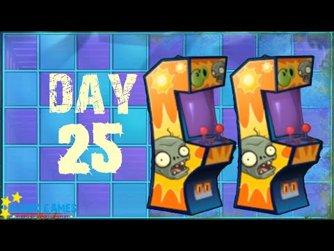 Plants vs Zombies 2 - Neon Mixtape Tour - Day 25 [Arcade Machine] No Premium