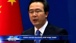 China denies hacking New York Times