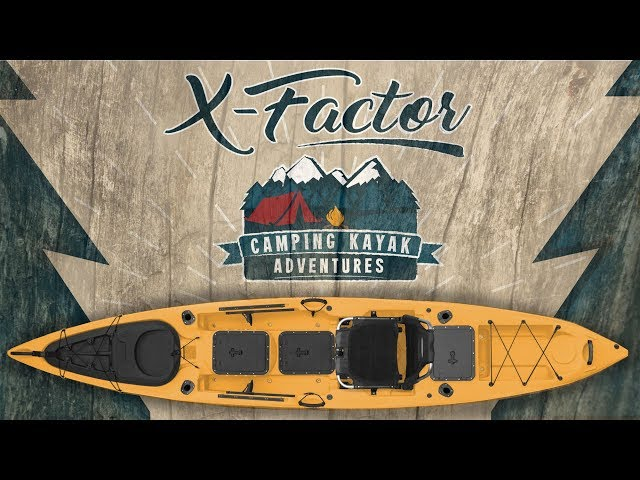 X-Factor Storage Kayak | Pack your Yak | Camping Gear Kayak