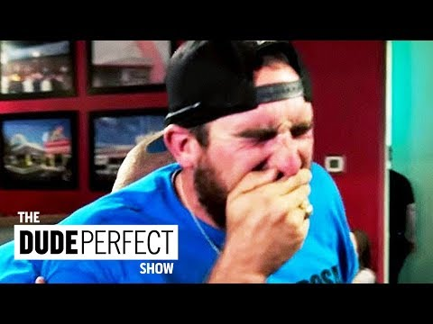 "Dude Perfect's Coby Cotton's ""Code Brown"" Situation"