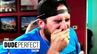 "Dude Perfect's Coby Cotton's ""Code Brown"" Situation 