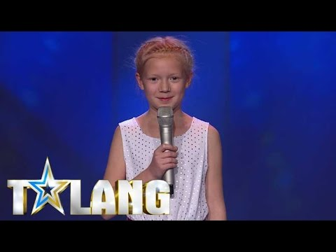 9-year old girl plays with fire during her audition in Sweden's Got Talent - Talang 2017