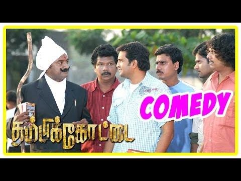 Thambikottai tamil movie | comedy Scenes | Narain | Meena | Poonam Bajwa | Santhanam