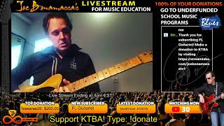 Joe Bonamassa KTBA Livestream Wednesday 3/18/2020