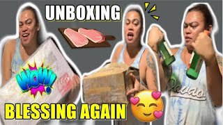 UNBOXING & EATING BLESSINGS from THE KITCHEN CORNER | BRENDA MAGE