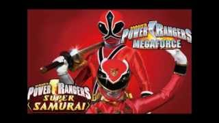 improved version power rangers megaforce vs power rangers samurai fan made team up morph