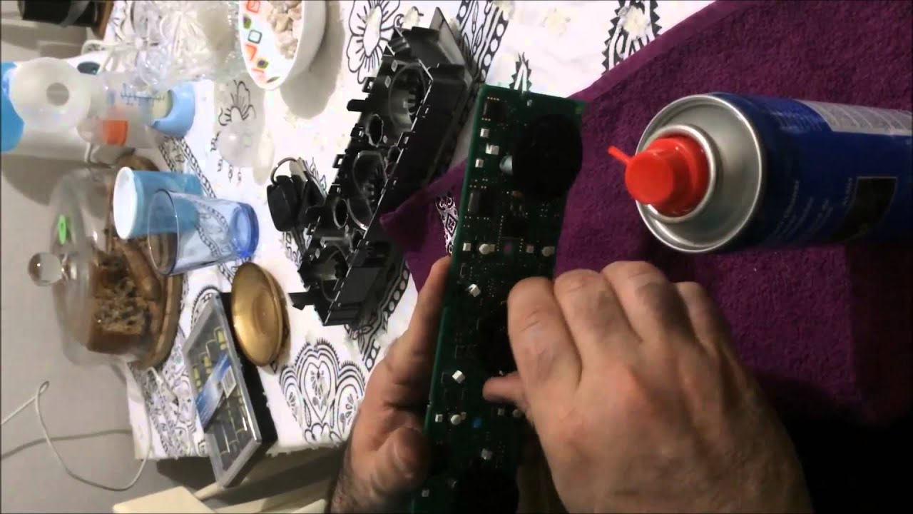 Vectra C Klima Kontrol Paneli S 246 Kme Temizleme Youtube