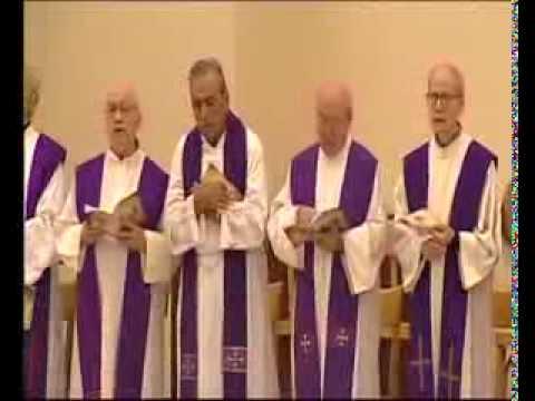 Funeral of Rev Fr  Silvio Sassi Superior General  18 09 14   TELEPACE