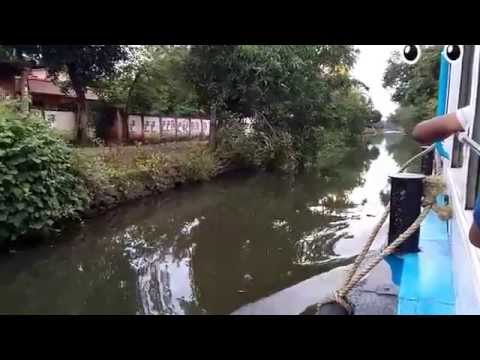 Kollam to Alleppy Beauty of Back Water Journey full in HD