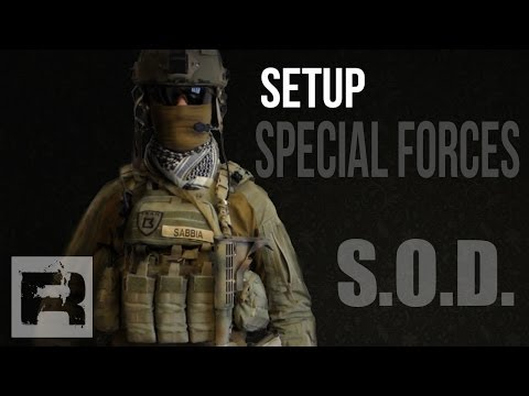 Setup Special Forces inspired - S.O.D. Gear