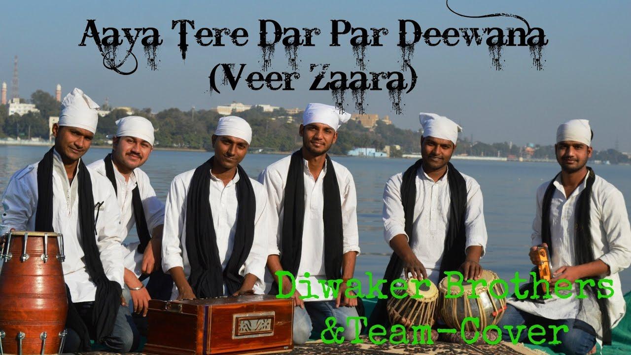 Aaya tere dar par full song | veer-zaara | shah rukh khan.
