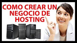 Cómo crear una empresa de hosting