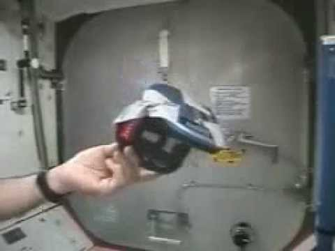 Gyroscope behavior in low gravity.