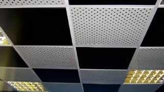 кассетные потолки обзор