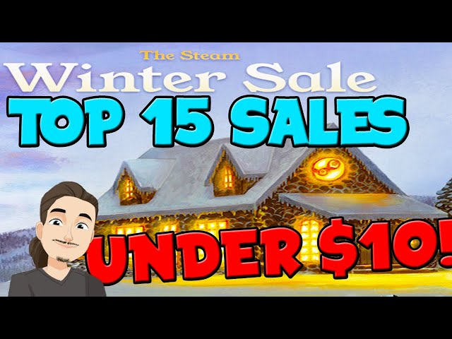 Top 15 Game Recommendations Under $10 || Steam Winter Sale 2020