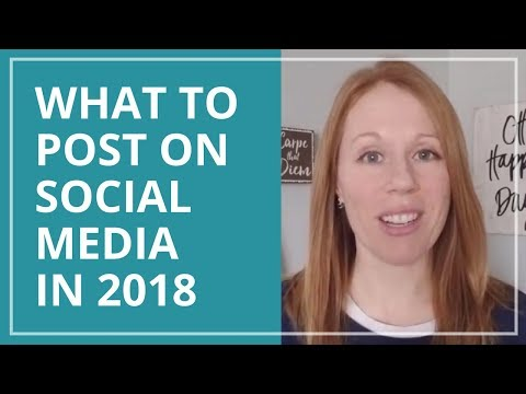 What to Post on Social Media: 50 Social Media Content Ideas (2018)