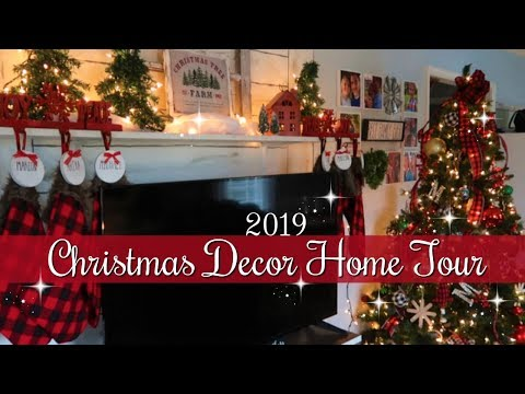 **NEW** 2019 CHRISTMAS DECOR HOME TOUR / BUFFALO CHECK CHRISTMAS DECOR