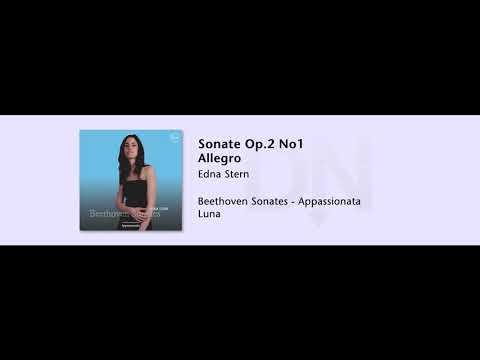 Edna Stern - Sonate Op 2 No1 Allegro - Beethoven Sonates-Appassionata - 07