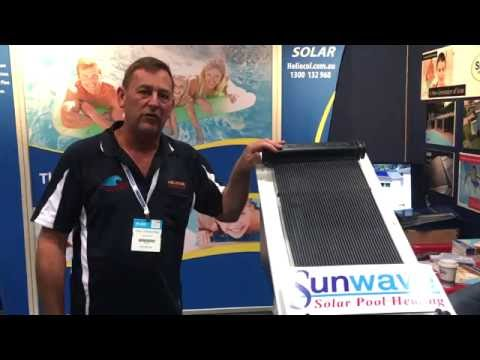 Heliocol solar pool heating at the splash pool and spa for Splash pool show gold coast