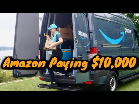 Amazon Paying $10,000 to Start Delivery Business