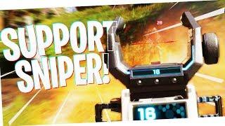 I am the SUPPORT SNIPER! - PS4 Apex Legends!
