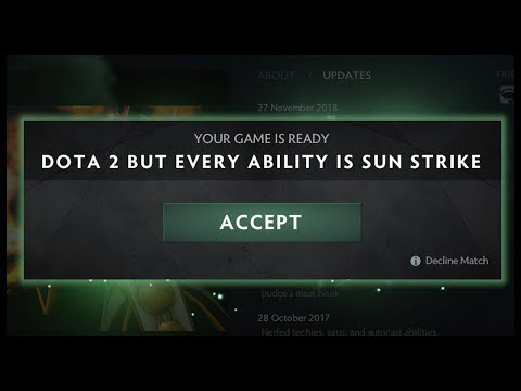 Dota 2 But All Abilities Have Global Cast Range