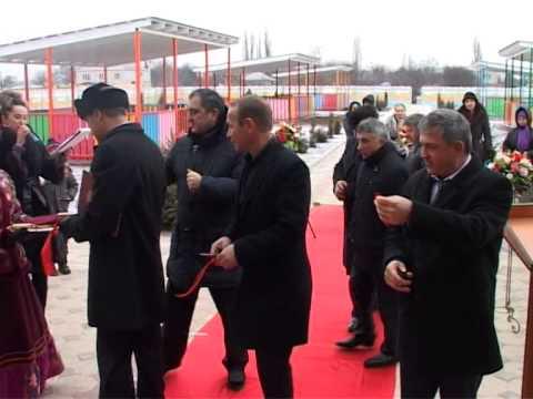 В селе имени Жданова Кизлярского района открыли новый детский сад на 110 мест