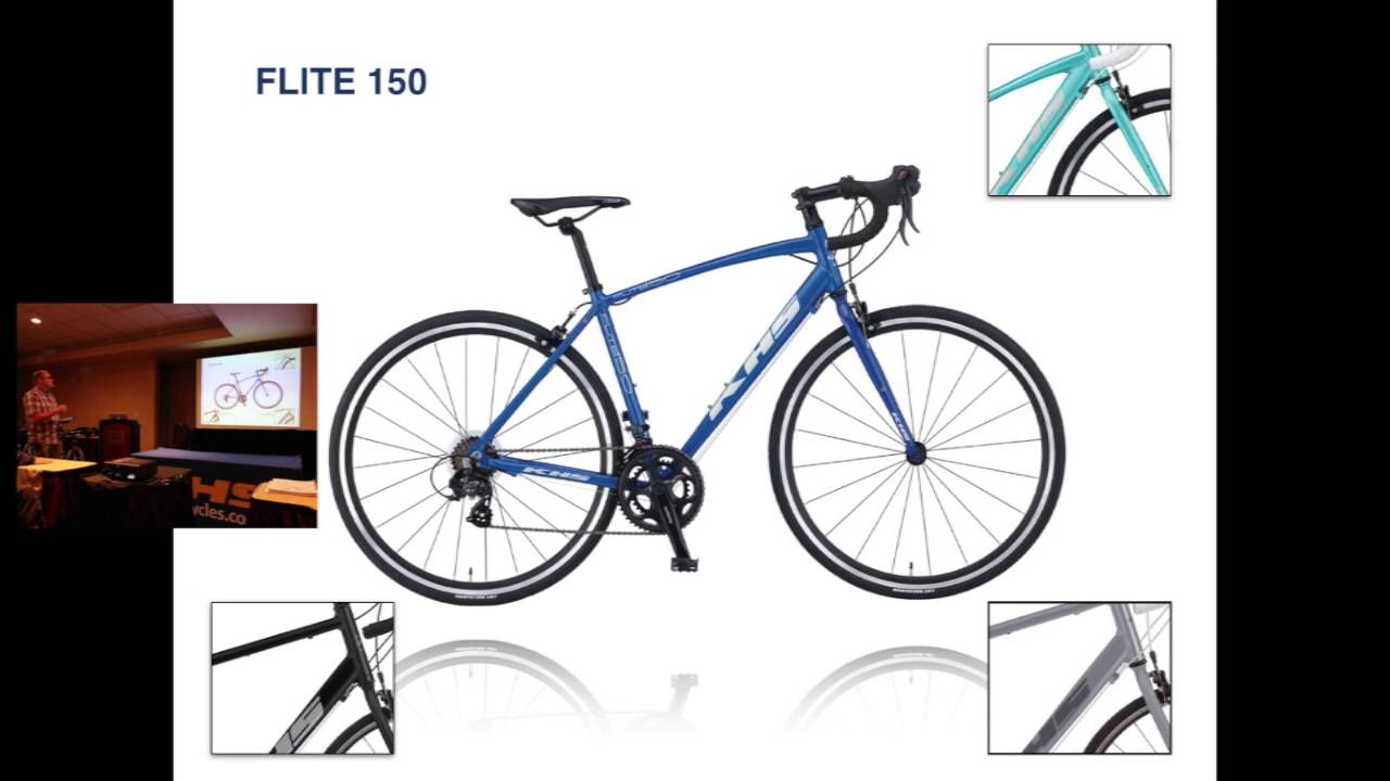 2016 Road Bike Line Up from KHS Bicycles - YouTube