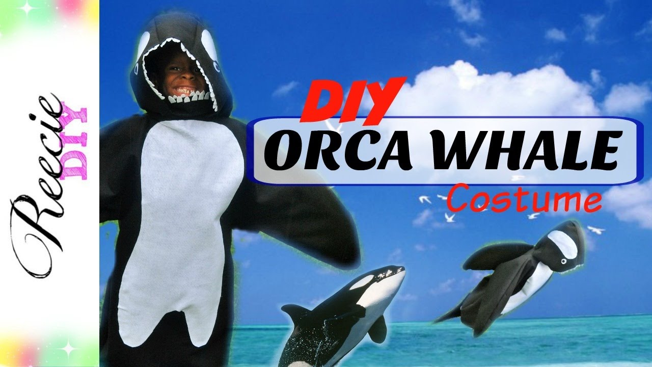 how to make a whale costume - youtube