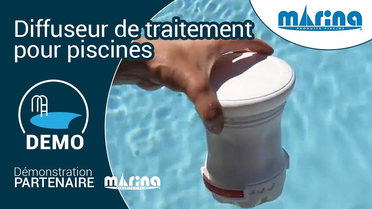 Chlore piscine utiliser un diffuseur de traitement for Diffuseur de chlore piscine