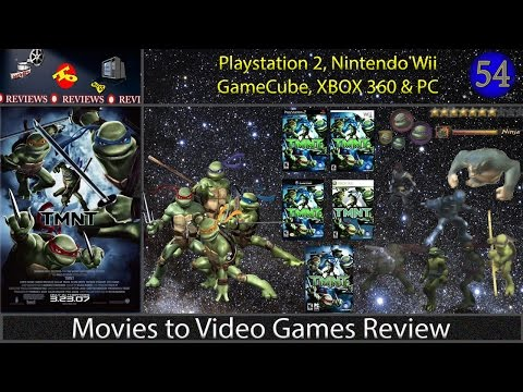 Movies To Video Games Review - TMNT (Xbox360, PS2, Wii, NGC, PC)