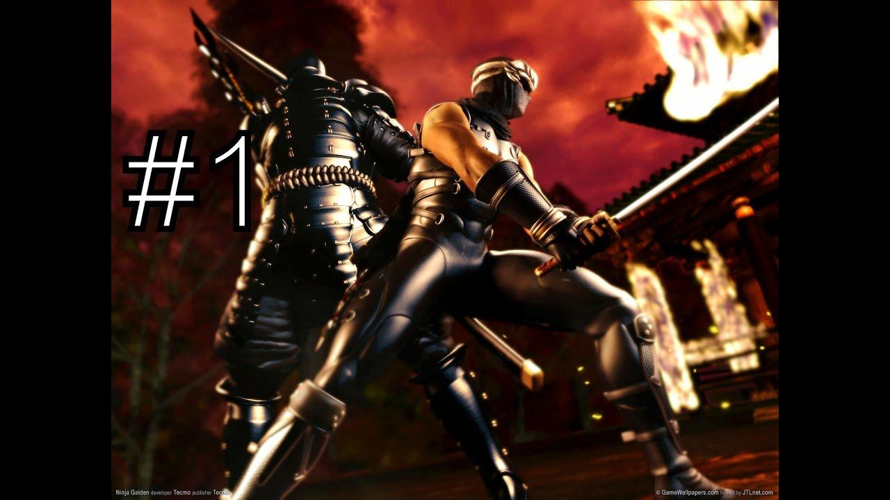 ninja gaiden black [hd 1080p 60fps] (xbox 360) walkthrough part 1